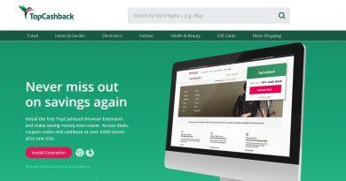 Topcashback 可以添加Google和火狐浏览器拓展程序了