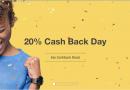 TopCashback 部分商户20%返利 并且额外送$2.5